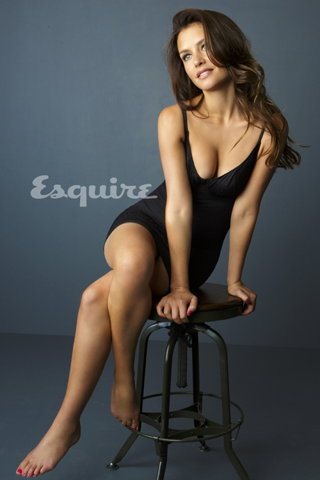 hannah ware in the november 2012 issue of esquire
