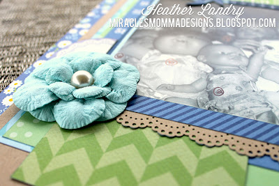 Baby Doll_Little Girl_Scrapbook Layout