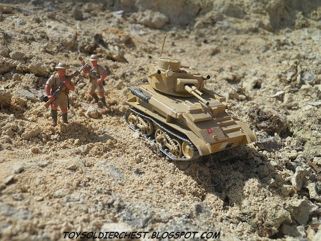 AIRFIX-JB MODELS VICKERS LIGHT TANK MK VI a/b/c 1/76 desert ww2 world ...