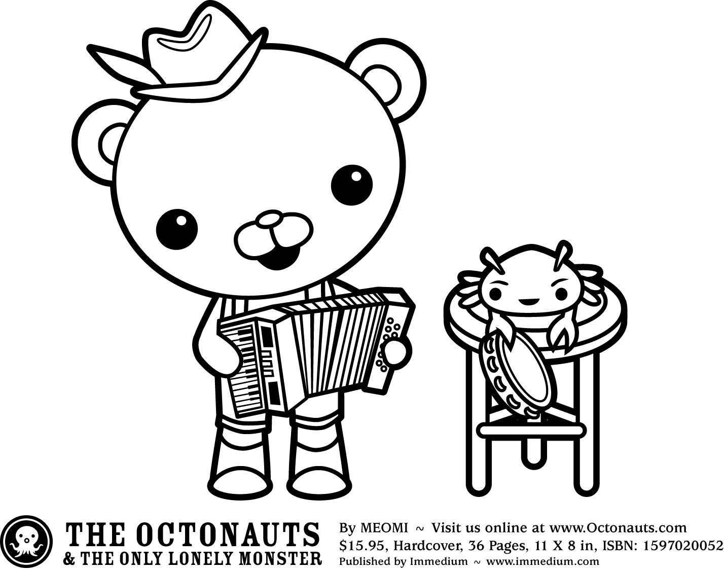 Asombroso Octonautas Para Colorear Dashi Ideas - Dibujos Para ...