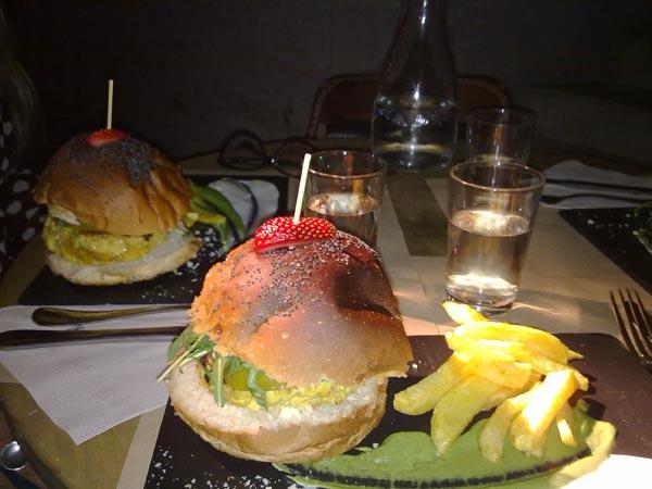 hamburguesa maricastaña