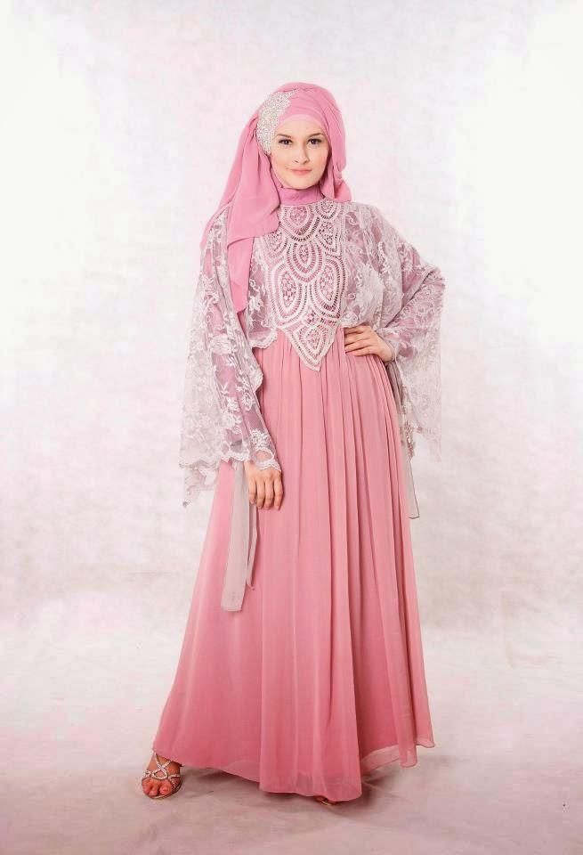 Gaun muslim remaja modern dan trendy