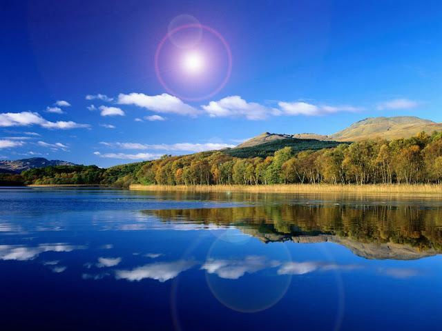 Por qué se ve el cielo azul