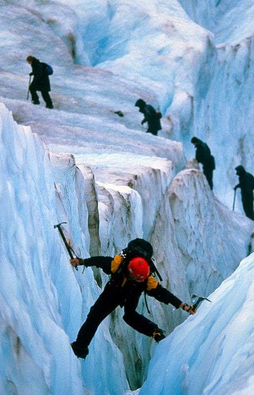 Ice Hikers, South Islands, New Zealand