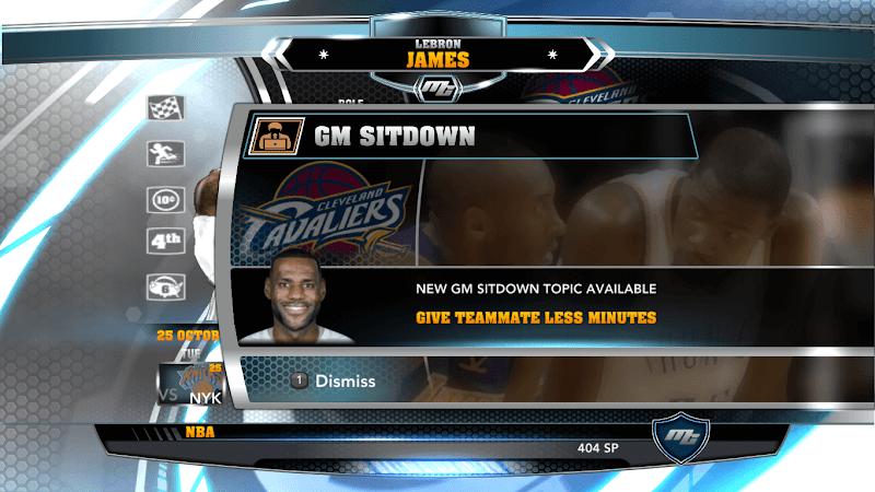 NBA 2k14 MyCareer Mod : LeBron James - hoopsvilla