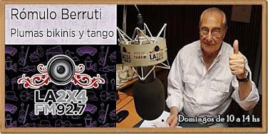 Plumas bikinis y tango - FM La 2x4 (Buenos Aires)