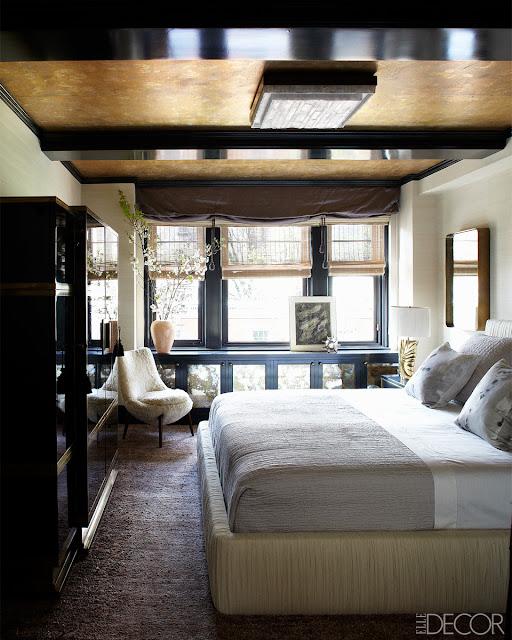 Amerikanisches Art Deco in Pudertönen, schwarzem Japanlack und viel Messing - wohnen in einer Filmszene
