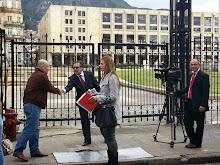En Bogota el alcalde Nelson Palacio Vasquez gestionando recursos para el municipio..logramos conseg