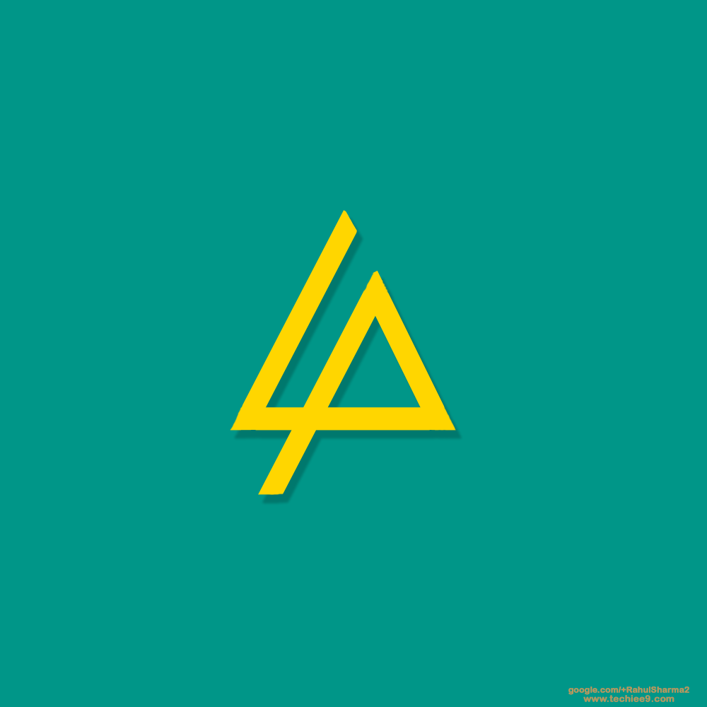 linkinpark logo yellow