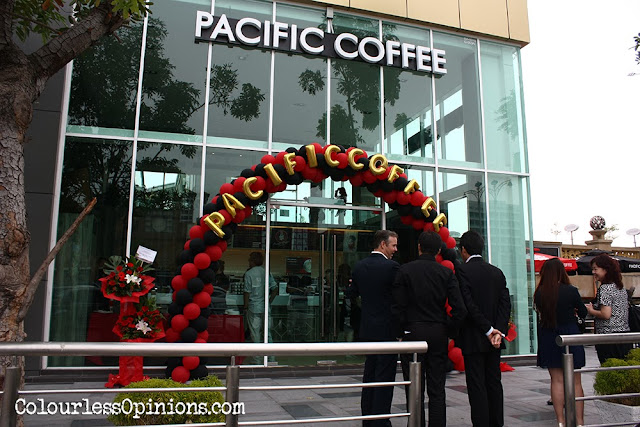Pacific Coffee at Dataran Pahlawan Melaka Megamall launch