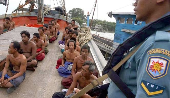 KKP Kembali Tangkap Tiga Kapal Ikan Asing Ilegal