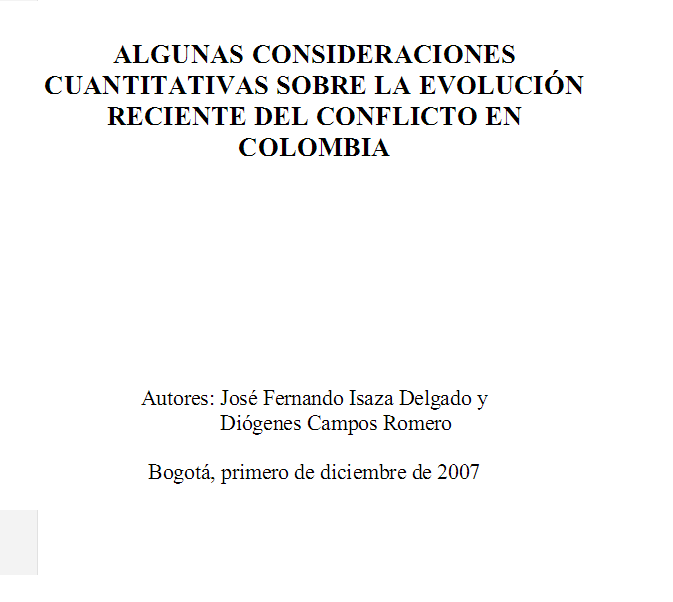 http://es.scribd.com/doc/232937629/Consideraciones-Cuantitativas-Sobre-La-Evolucion-Reciente-Del-Conflicto-Colombiano