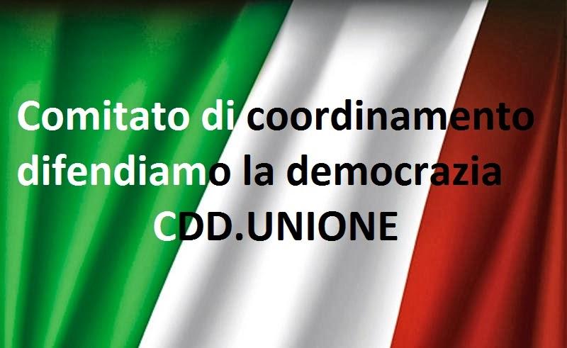 CDD Comitato di Coordinamento Difendiamo la Democrazia UNO