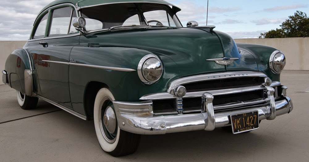 All American Classic Cars: 1950 Chevrolet DeLuxe Styleline ...