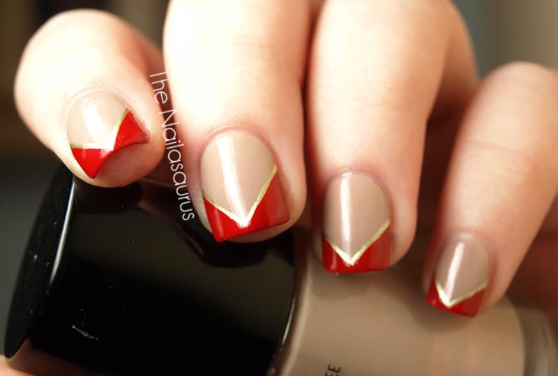 Lana Del Rey Inspired Nail Art The Nailasaurus Uk Nail Art Blog