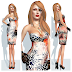 INDYRA - RARITY BODYCON: TANGERINE