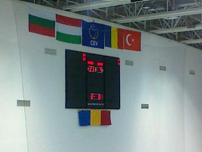 Romania 3 - Ungaria 0. Asa da!