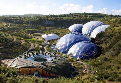 Projeto Éden - maior estufa tropical do mundo