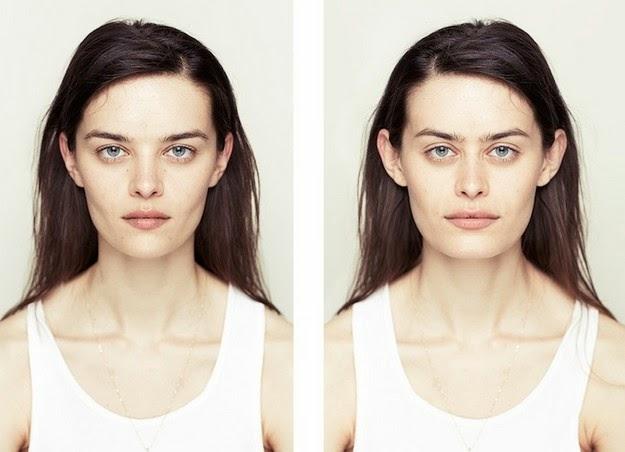 facial symmetry pictures