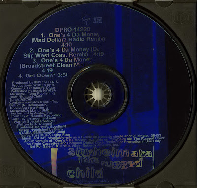 Shyheim – One's 4 Da Money (Promo CDS) (1994) (320 kbps)