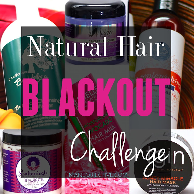 February is Black History Month: Natural Hair BLACKOUT Challenge!