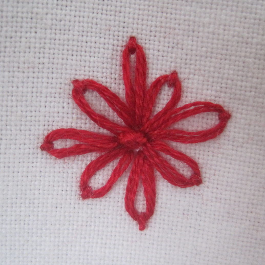 Curiousdoodles embroidery tutorial lazy daisy