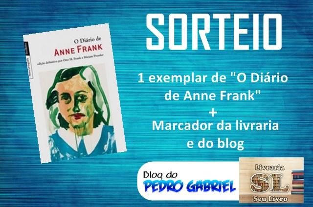 SORTEIO: Diário de Anne Frank