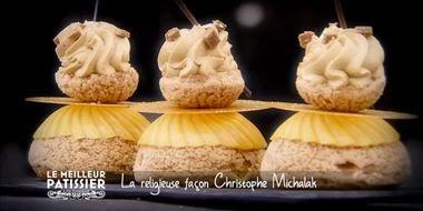 Les choux craquelin ou choux tricotés de christophe michalak trop