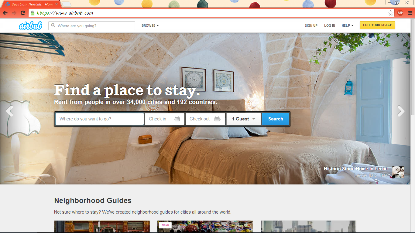 how to make a 3 day stay on airbnb