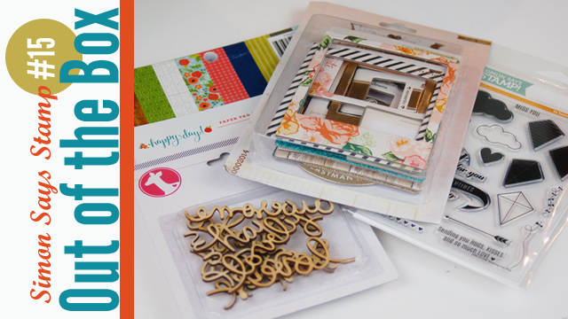 Out of the Box Simon Says Stamp Scrapbooking Haul Video with Jen Gallacher