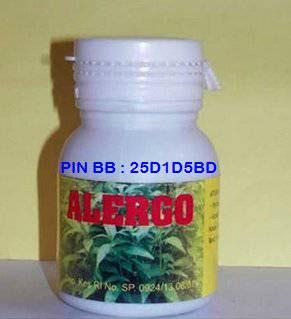 Alergo Herbal Indo Utama Obat Alergi Makanan dan Obat