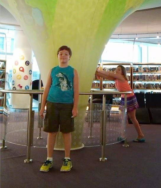Things to do in Indianapolis Indiana: Downtown Central Library for Kids