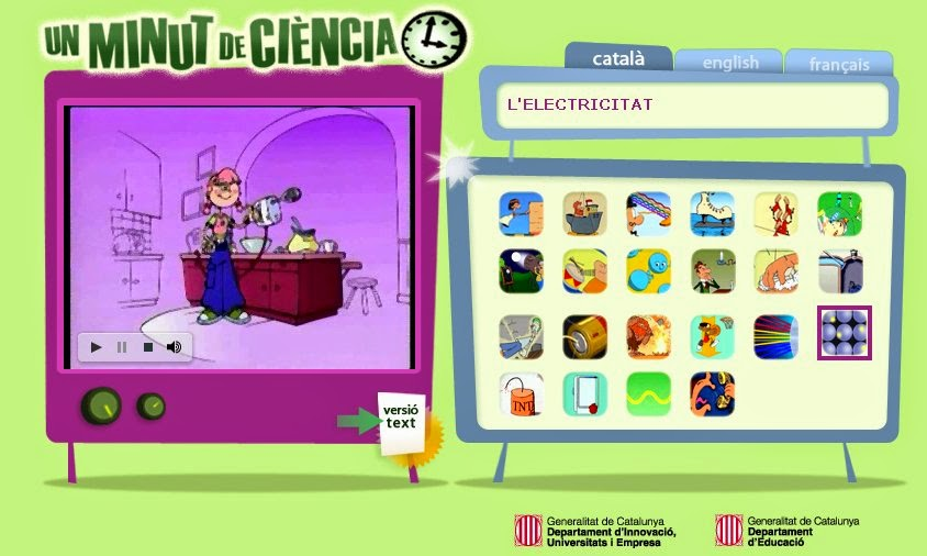 http://www.edu365.cat/eso/muds/ciencies/minut_de_ciencia/index.htm#