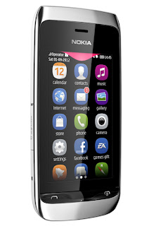 Harga Nokia Asha 309 Full Touch WiFi