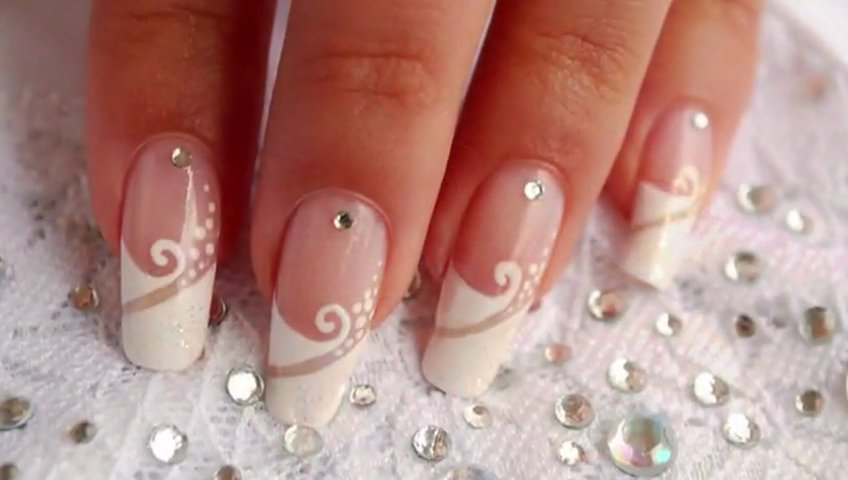 Фото свадебных ногтей дизайн