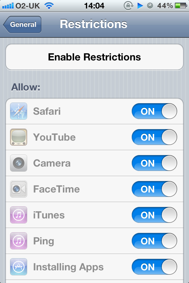 how to turn off safety mode on youtube for ipod