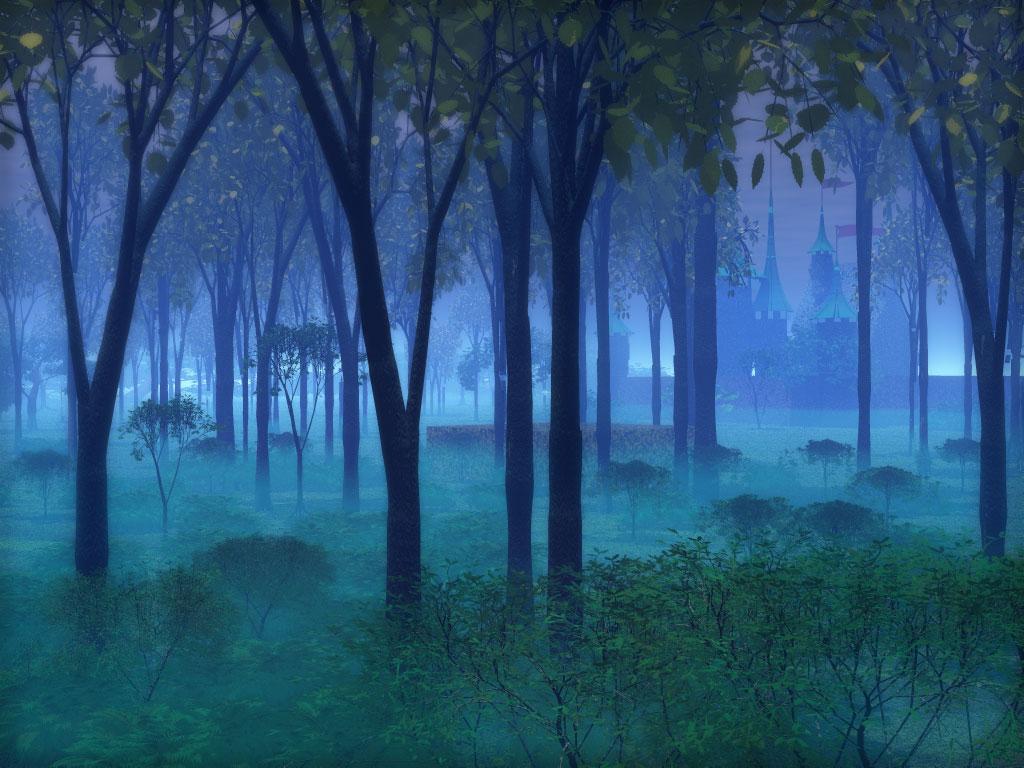 Florestas mágicas arte digital