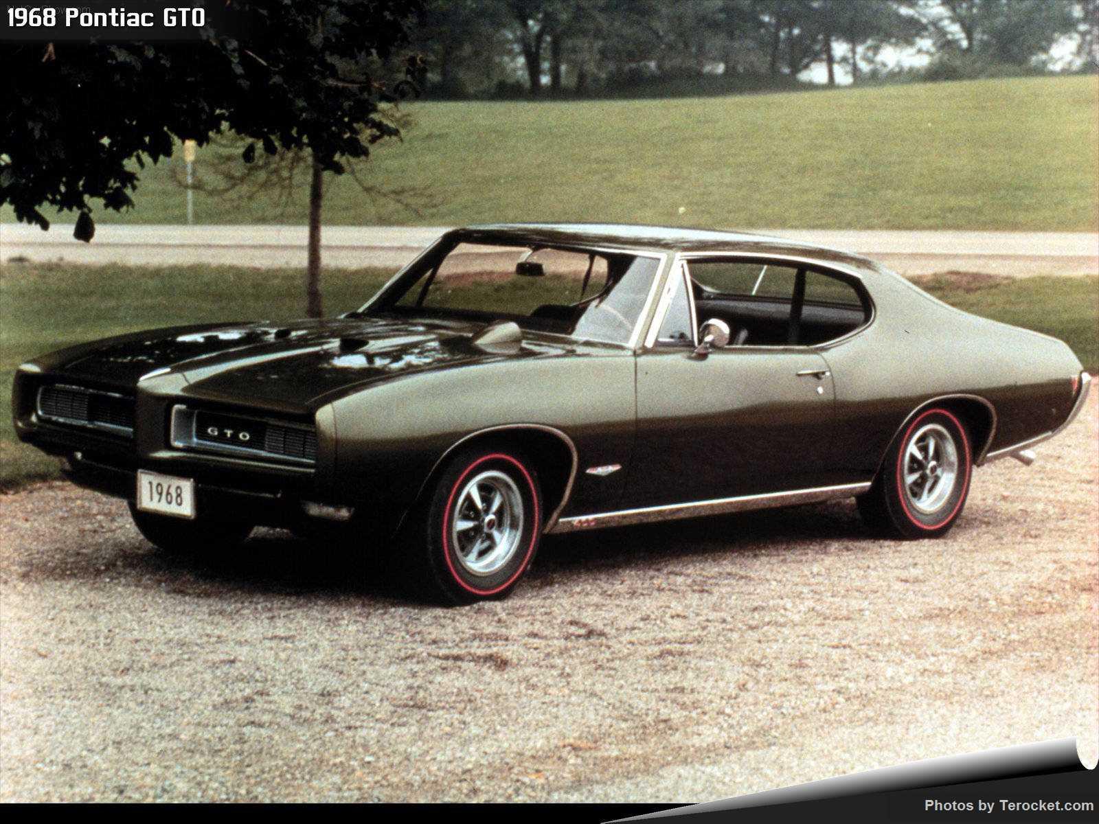 Hình ảnh xe ô tô Pontiac GTO 1968 & nội ngoại thất