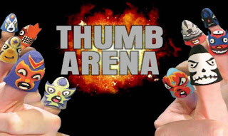 Screenshots of the Thumb arena for Android tablet, phone.