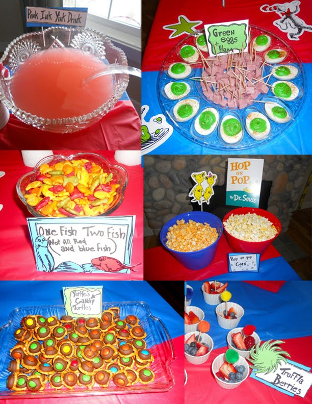 My Dr Seuss Baby Shower