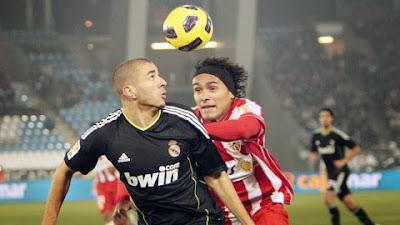Xem lại đầy đủ trận Almeria vs Real Madrid