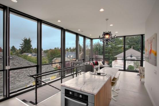 desain rumah modern dana minim low budget, keren, elegan