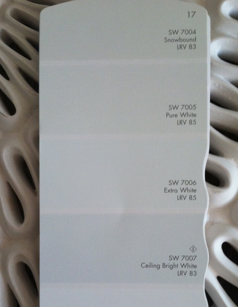 sherwin williams extra white 2017 - Grasscloth Wallpaper