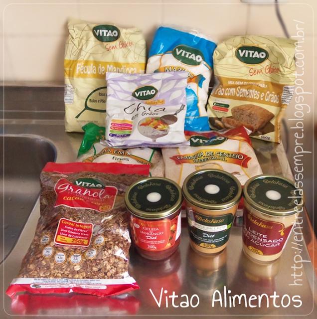Produtos Recebidos Vitao Alimentos
