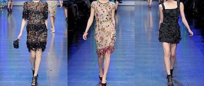 vestidos de dolce y gabbana primavera verano 2012