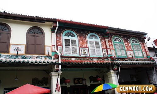 malacca jonker walk buildings