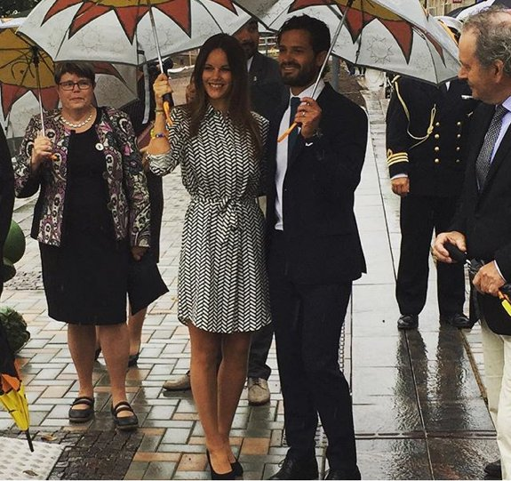 Princess Sofia of Sweden and Prince Carl Philip of Sweden (Duke and Duchess of Värmland)