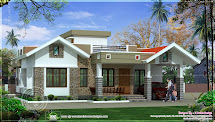 Kerala Single Floor House
