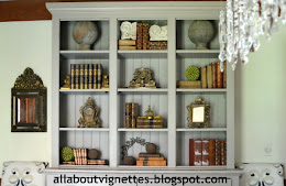 My Styled Bookcase