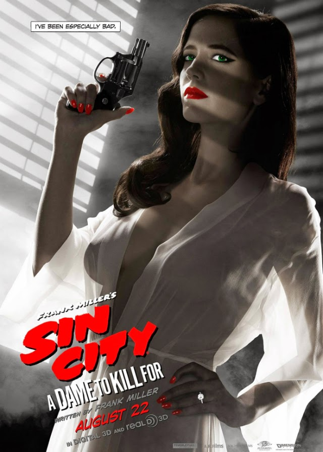 Póster de Eva Green en Sin City